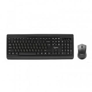 Набор клавиатура+мышь Gembird KBS-8001, 1000DPI Wireless, черный