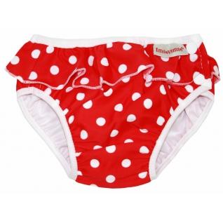 Трусики для купания (плавки) ImseVimse red dots frill