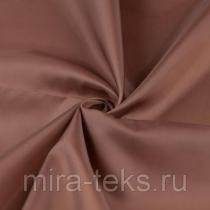 Подкладочная ткань 380 190Т 100%п/э, шир. 150 см, цвет: коричневый