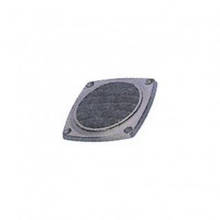 Maritim Решетка вентиляционная без фланца 47326B 94 x 94 мм черная