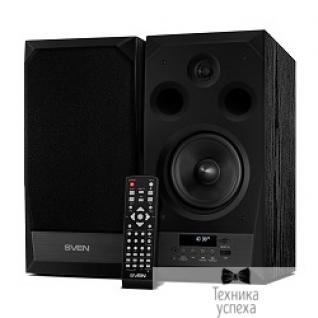 Sven SVEN АС MC-20, чёрный (90 Вт, FM-тюнер, USB/microSD, дисплей, ПДУ, Bluetooth, Optical)