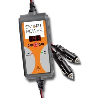 Интеллектуальные провода-прикуриватели SMART POWER SP-CAR (12В, 7А) SMART POWER