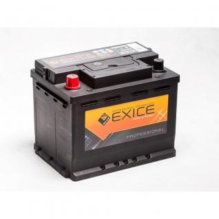 Аккумулятор EXICE 56821 60 Ач PROFESSIONAL прямая полярность - 56821 EXICE (ЭКСИС) 56821