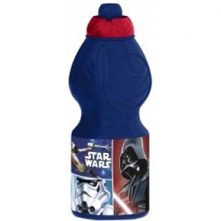 STOR Бутылка пластиковая (спортивная, фигурная, 400 мл). Звёздные войны Классика