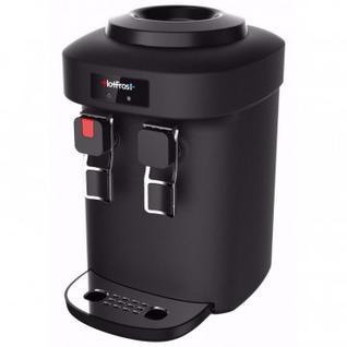 Кулер для воды HotFrost D65EN чёрный, электронное охлаждение, настольный