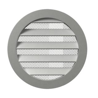 Решетка вент. круглая ERA 31,5РКМ D350 алюмин с фланцем D315