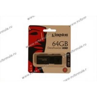 Флеш накопитель USB64Гб Kingston DataTraveler 100 G3