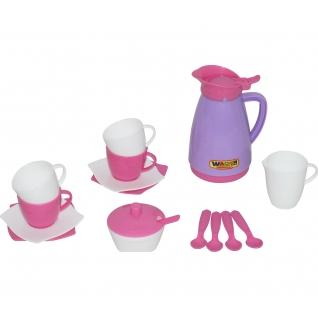 """Набор детской посуды """"Алиса"""" на 4 персоны (Pretty Pink) Полесье"""