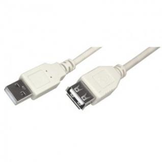 Кабель REXANT /18-1114/ USB A(male) - A(female) 1,8м