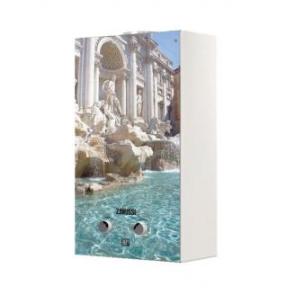 Газовый проточный водонагреватель 16-21 кВт Zanussi GWH 10 Fonte Glass Trevi