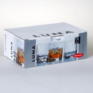 Набор стаканов LUNA 6 шт. 368 мл (виски) 42348B