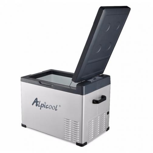 Kомпрессорный автохолодильник ALPICOOL ACS-40 черный (40л, 12/24/220В) 36971480 4