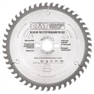 Пильный диск по ламинату с дуплообразным зубом CMT 287.048.10M