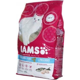 IAMS Iams® ProActive Health™ Senior & Mature для зрелых и пожилых кошек с океанической рыбой 2,55 кг