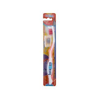 Зубная щетка Foramen Expert 3 со скрещенными щетинками и щеточкой для языка жесткая