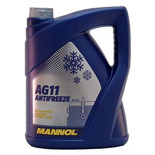 Антифриз Mannol Longterm AG11 синий 5л