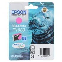 Картридж Epson T10334A для Epson Office T30, T40W, TX600FW, оригинальный, увеличенный (пурпурный, 650-675 стр.) 7568-01