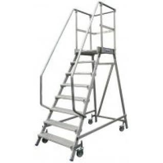 Лестница-платформа STABILO с 8-ю алюм. ступеньками
