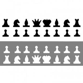 Набор фигур магнитных для демонстрационных шахмат арт.01941