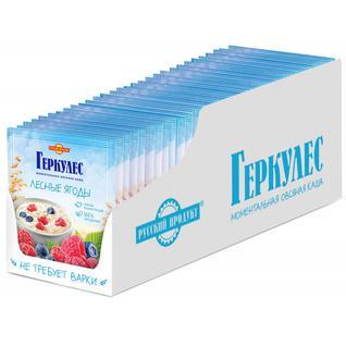 Русский продукт Овсяная каша момент Геркулес с лесными ягодами 35г
