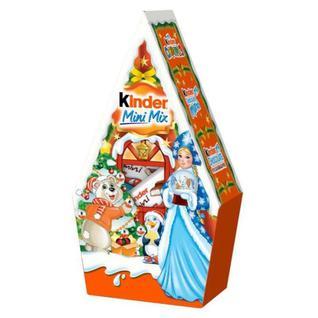 Новогодний сладкий подарок КИНДЕР МИНИ МИКС 106Г Kinder