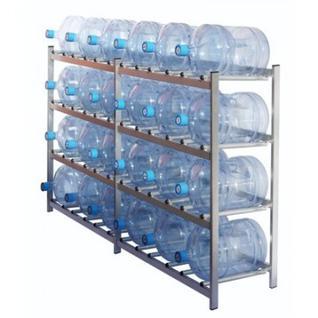 Метал.Мебель KD_Бомис-24 стеллаж для воды бутилир. на 24 тары