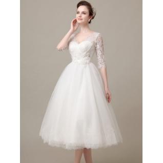 Платье свадебное  Короткие свадебные платья⇨Нежные чувства