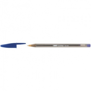 Ручка шариковая BIC Cristal синий 1,2мм Франция