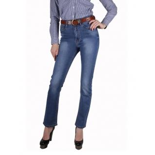 Женские джинсы с ремнём MossMore MR1066CA-393