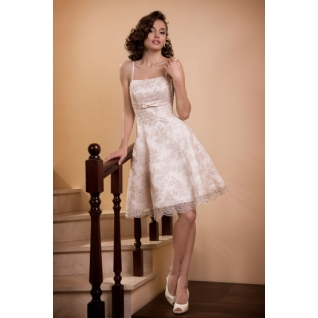 Платье свадебное  Короткие свадебные платья⇨Леон