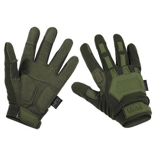 MFH Перчатки MFH Action тактические, цвет оливковый 5037553