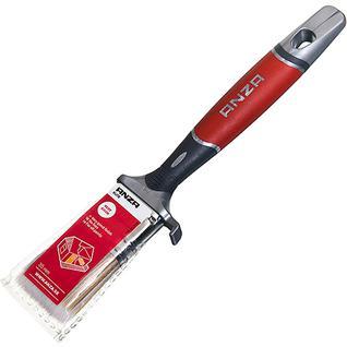 АНЗА кисть плоская 35мм искусственная щетина прорезиненная ручка / ANZA Elite 150435 кисть флейцевая 35мм искусственная щетина прорезиненная ручка Анза