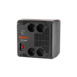 Стабилизатор напряжения WESTER STB-1500R однофазный, цифровой 220В 1500ВА 4 ...
