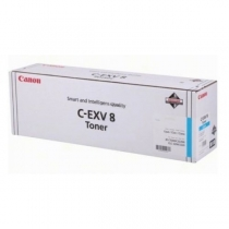 Картридж Canon C-EXV8C для Canon iR C2620, iR C3200, iR C3220, CLC 2620, CLC 3200, CLC 3220, оригинальный, голубой, 25000 стр. 10187-01