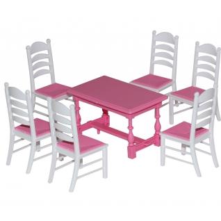 Набор мебели для кукол №6 (7 элементов) Полесье