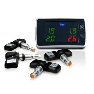 Система контроля давления и температуры в шинах Carax TPMS CRX-1001 (внутренние ...