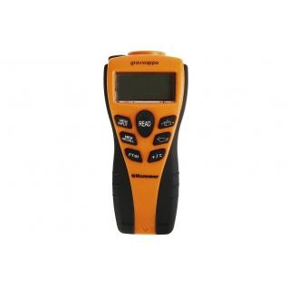 Дальномер ультразвуковой HAMMER DUS 20 GRAVIZAPPA дальность 0.6-15м, лазерная ...