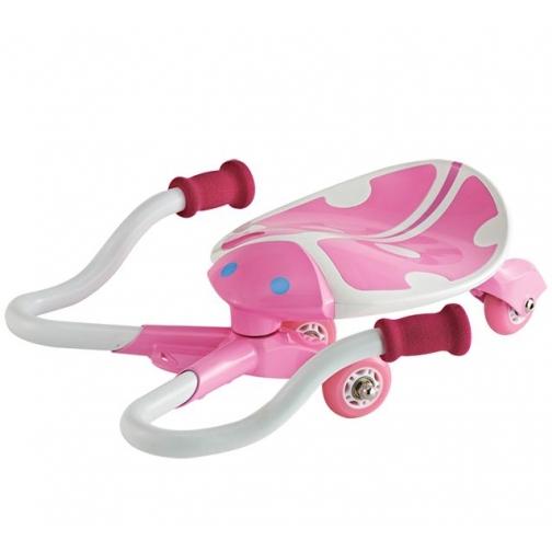 Детский скутер JDBug Mini Kid SWAYER TC-60 (розовый) 5999542
