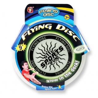 """Игрушка """"Летающий диск, светящийся в темноте"""", 23 см YG Sport"""