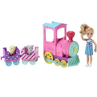 Куклы и пупсы Mattel Barbie Mattel Barbie FRL86 Барби Паровозик Челси