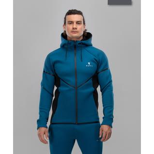Мужская спортивная толстовка Fifty Intense Pro Fa-mj-0102, синий/черный размер M