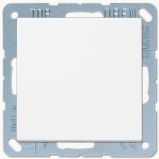 Выключатель Jung LS серия (501U-LS990WW) одноклавишный 10А белый пластик
