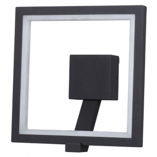 357445 NT18 091 темно-серый Ландшафтный светодиодный светильник IP65 96LED SMD3014 10W 100-240V ROCA NOVOTECH