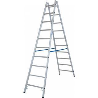 STABILO Двусторонняя лестница с перекладинами, 2х10 перекладин