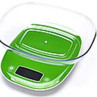 10954-1 Весы кухонные до 5кг + ЗЕЛЁНЫЙ MB (х12) MayerBoch