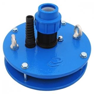 Оголовок скважины ОС-127-140мм D32 (обжим 32мм), фиксатор кабеля, карабин 6009