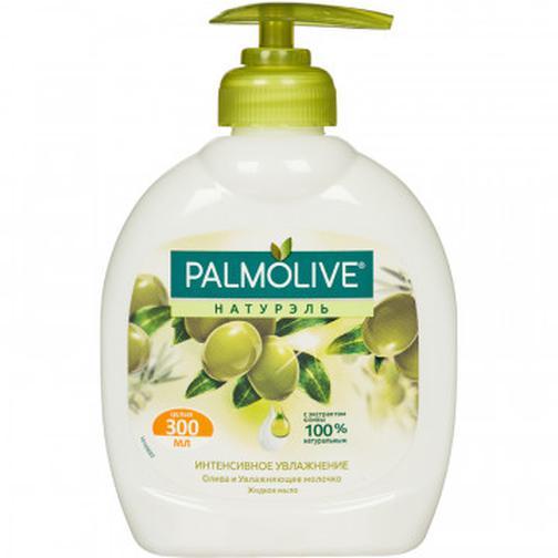 Мыло жидкое PALMOLIVE 300мл Олива+увлажняющее молочко с дозатором 37868945