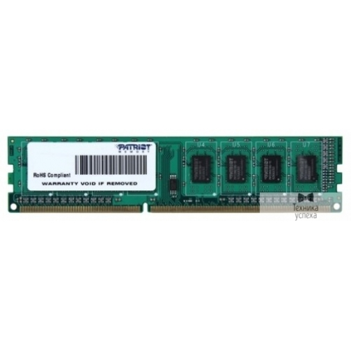 Patriot Patriot DDR3 DIMM 4GB (PC3-10600) 1333MHz PSD34G133381 36991743