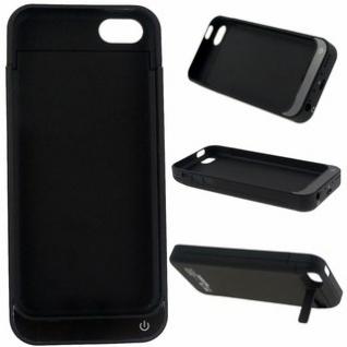 Чехол зарядка для iphone 5/5s 2200mAh черный
