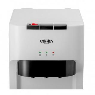 Кулер для воды VATTEN L45WE напольный, электронный, нижняя загрузка, белый
